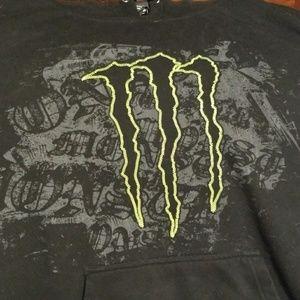 Monster Shirts - MONSTER HOODIE - Hooded Sweatshirt - Energy - Rare